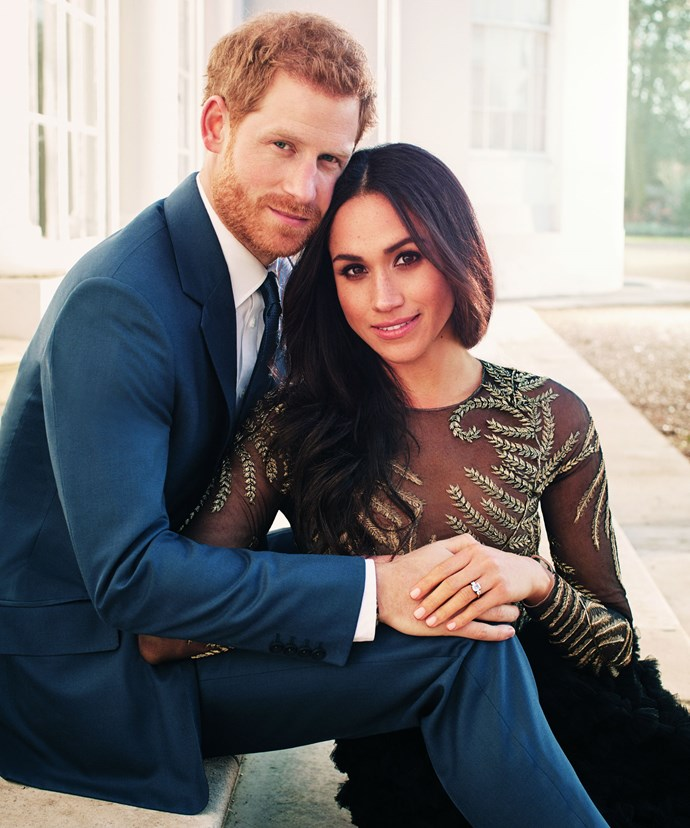 A select 200 close friends are also invited to an after party at Frogmore House on the castle grounds. Of course, that's where the royal couple they took this stunning engagement photo.