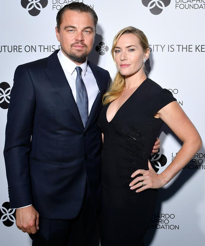 The *Titanic* costars wound up auctioning three dinners with 'Jack and Rose.'