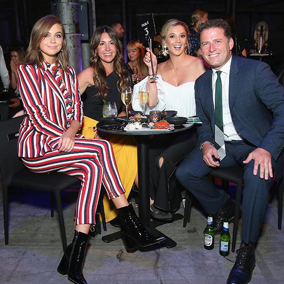 The happy couple glowed at the David Jones Autumn Winter 2018 Collections Launch in Sydney last night.