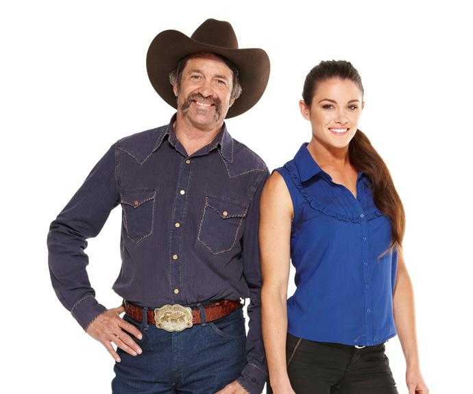 **Robert & Lynzey, Season 6**  With his southern drawl, Texan cowboy Robert and his daughter, Lynzey, were fan favourites.
