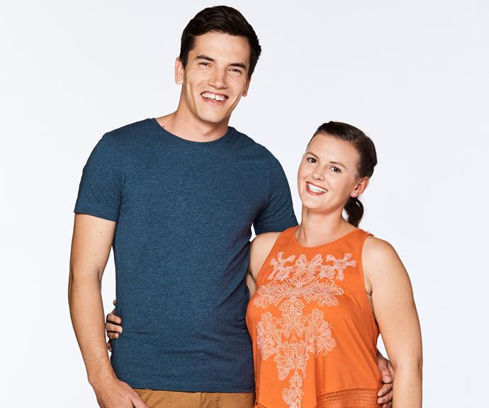 **Amy & Josh, Season 8**   Josh shocked MKR fans when he insulted a fellow contestant during an instant restaurant round.