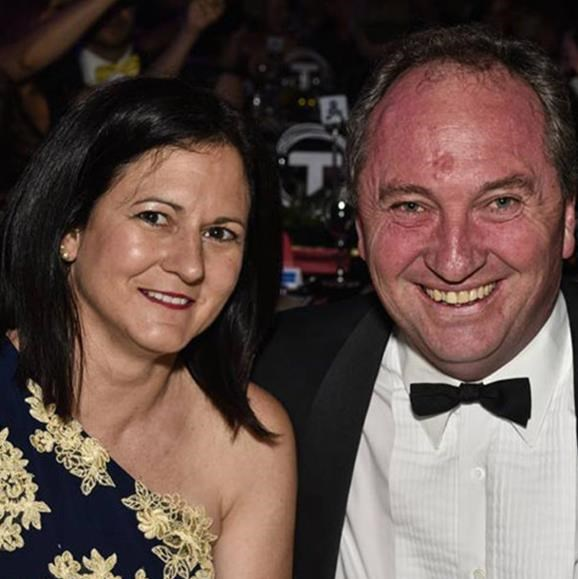Barnaby and his wife Natalie.