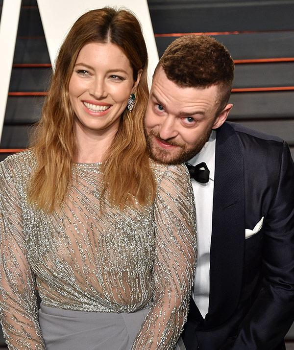 Jess, pictured with hubby Justin Timberlake, has just landed her first Golden Globes nomination.