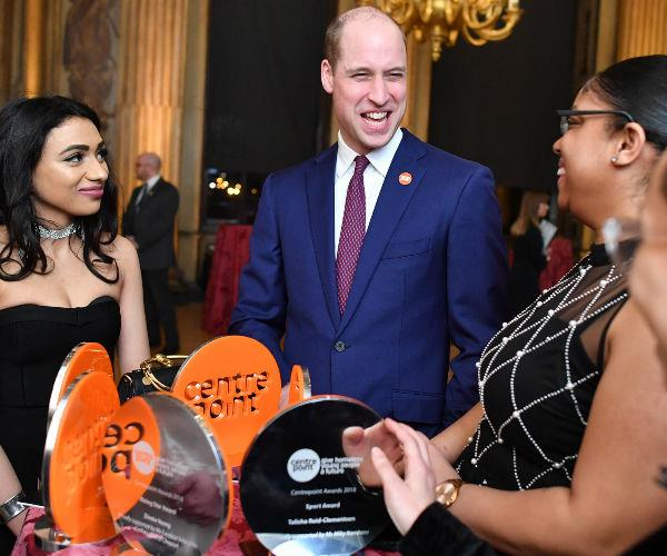 While attending the Centrepoint Awards at Kensington Palace, Prince William joked that dealing with twins would test his mental health.