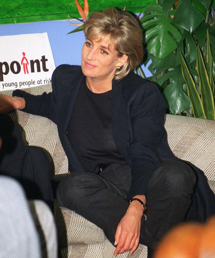 Princess Diana supported Centrepoint, a charity which provides accommodation and support to homeless people aged 16–25.