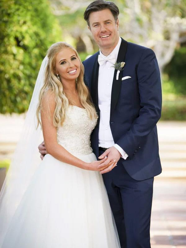 Ash with her hubby Troy.