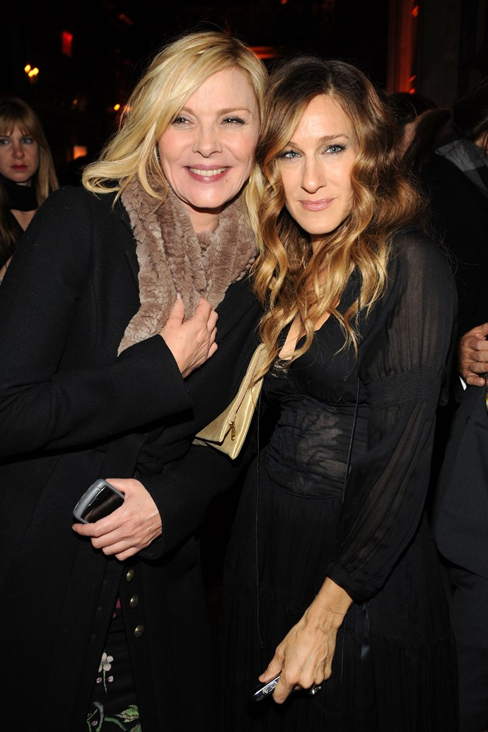 "**January 2010:** Just two months later, Cattrall echoed SJP's sentiment, claiming that pitting the two of them against each other is only done so for pure ""gossip"". ""I think Sarah was right: People don't want to believe that we get on,"" she  said. ""They have too much invested in the idea of two strong, successful women fighting with each other. It makes for juicy gossip and copy. The truth of us being friends and getting along and happily doing our jobs together is where near as newsworthy. I think Sarah is fantastic… She and I are sick of this. It's exhausting talking about it, and a real bore. Next?"""