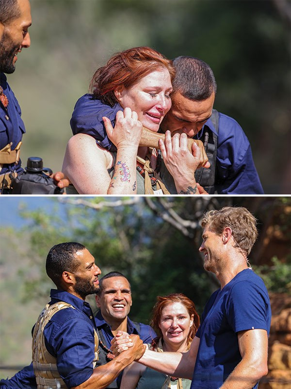 But her camp mates were always there to help her out!