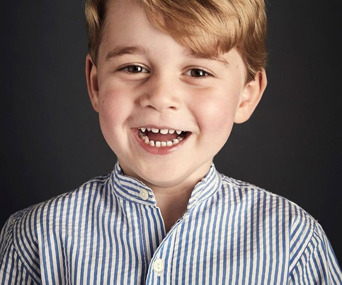 "While big bro George [wants to be a police officer](http://www.nowtolove.co.nz/celebrity/royals/watch-out-world-prince-william-reveals-prince-george-might-have-already-chosen-his-dream-job-36939|target=""_blank"") when he grows up."