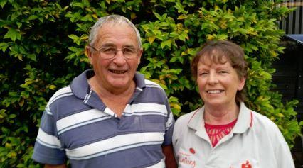 Six years after going on their first walking 'date', Max and Beryl are still going strong.