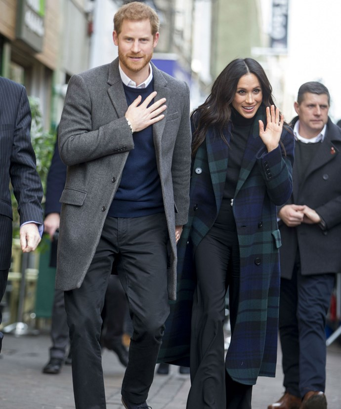 Prince Harry, 33, and Meghan Markle, 36, make their first official visit to Scotland as a couple.