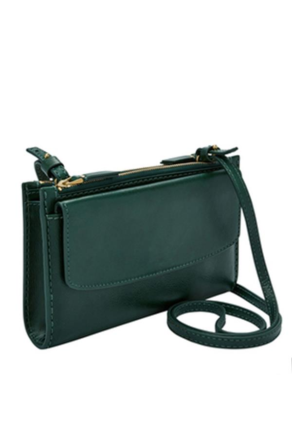 """Sage Zip Crossbody Bag By Fossil, $199 from [Myer](https://www.myer.com.au/shop/mystore/handbags/fossil-slg1090307-sage-zip-crossbody-bag
