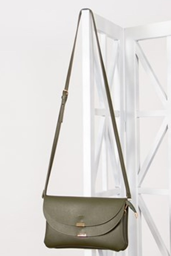 "Double fold over metal bar small bag, $39.95 from [Adorne](https://www.adorne.com.au/shop/retail/shop-by-category/handbags/double-fold-over-metal-bar-small-bag2|target=""_blank""