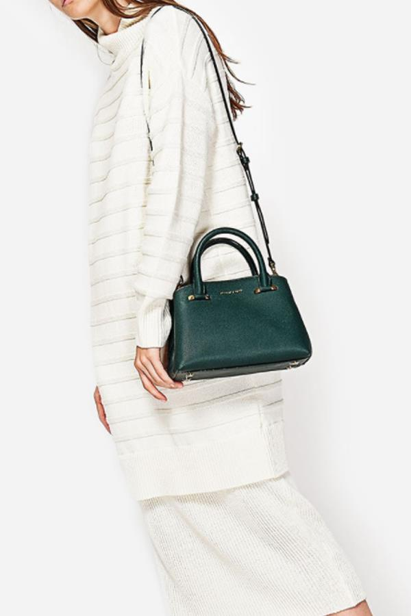 """Basic City bag, $79 from [Charles and Keith](http://www.charleskeith.com/au/bags/basic-city-bag-green-ck2-50780380.html