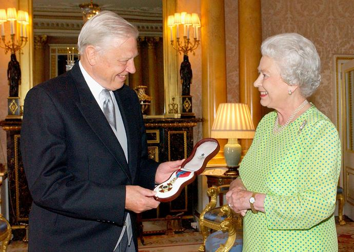 The Queen has been a longtime fan of Attenborough's work.