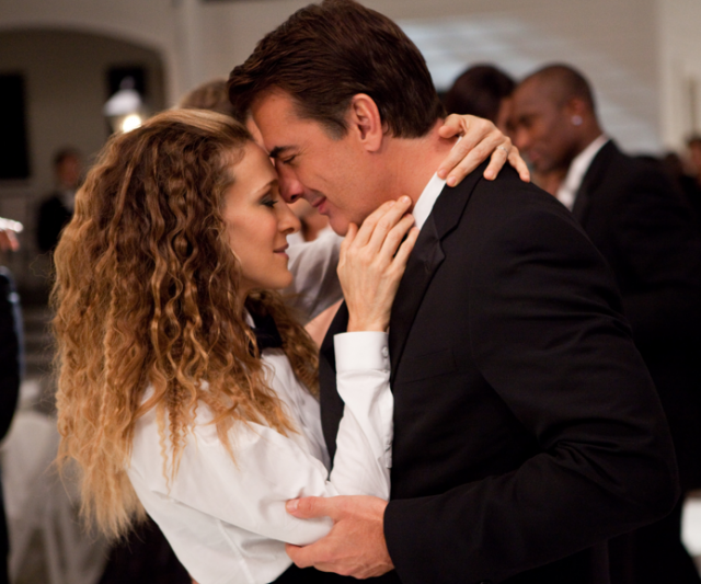 **Carrie Bradshaw and Mr Big** - ***Sex And The City*** <br><br> Carrie (Sarah Jessica Parker) and Mr Big (Chris Noth) had a roller coaster romance. They cheated on their partners to be with each other, then Big kinda left Carrie at the altar. But there's no denying that these two are destined to be together!