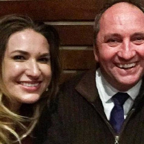 Barnaby Joyce is now in a relationship with his former staffer Vikki Campion, after the pair engaged in an affair at work. *Image source: Facebook.*