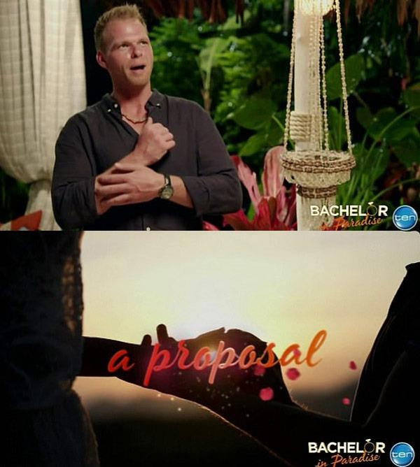 AND A PROPOSAL!