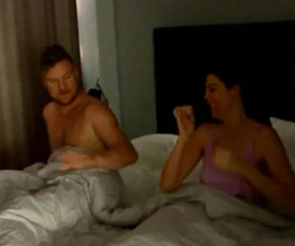 Tracey and Dean are seen looking very intimate in bed in the new teaser.