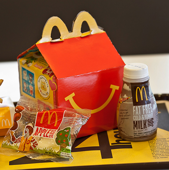 McDonald's plans to make Happy Meals healthier worldwide by 2022