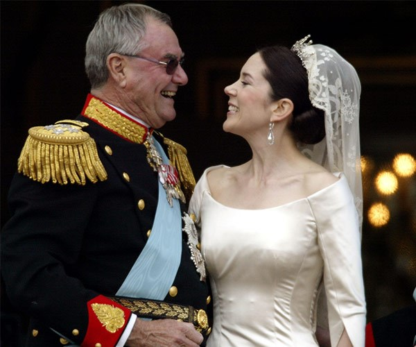 """""""Mary was drawn to her father-in-law when she moved to Denmark."""""""