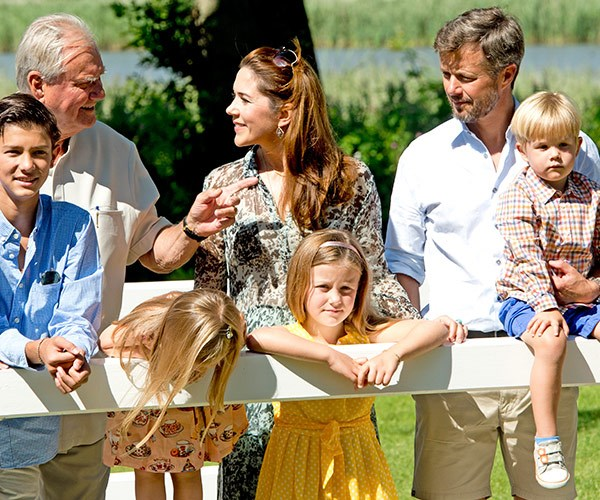 Their Farfar (Danish for grandfather) was huge part of the Aussie royal's family.