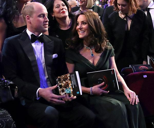 Kate and Wills are getting excited for the show.