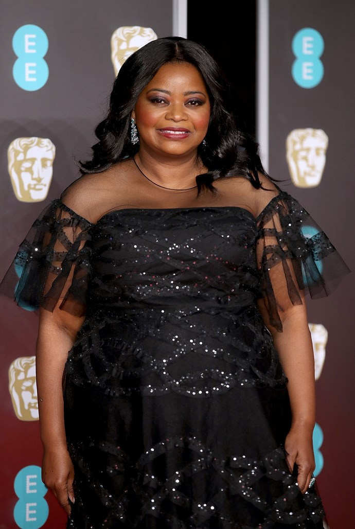 Octavia Spencer is nominated for best supporting actress for her role in The Shape of Water.