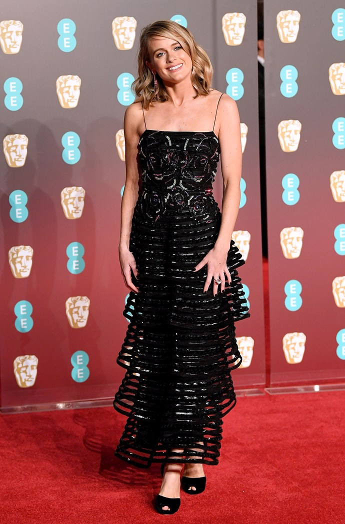 Prince Harry's ex girlfriend, Cressida Bonas has been keeping a low profile since the news of Meghan Markle and Prince Harry announced their engagement made it to the BAFTA's - and she looked stunning!