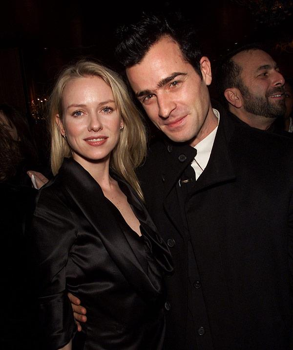 Naomi and Justin became friends after working together on *Mulholland Drive*.