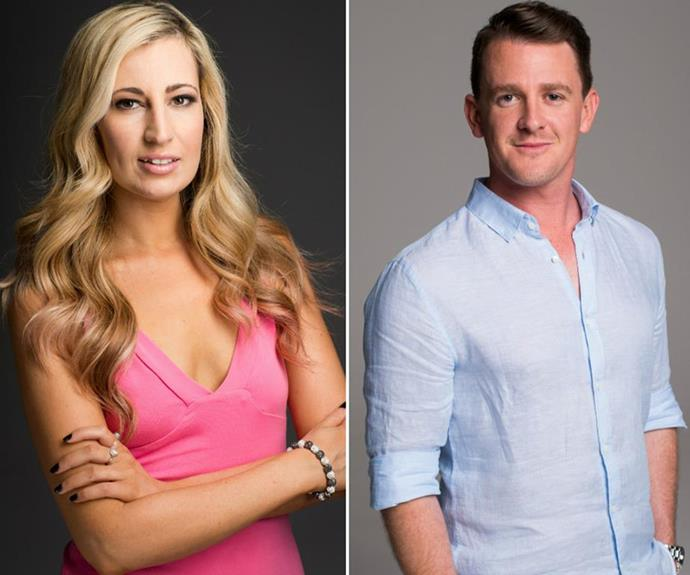 Game changer: Scarlett and Jono's texting scandal was the first time a drama of its kind was broadcast on *MAFS*. *(Image: Channel Nine)*