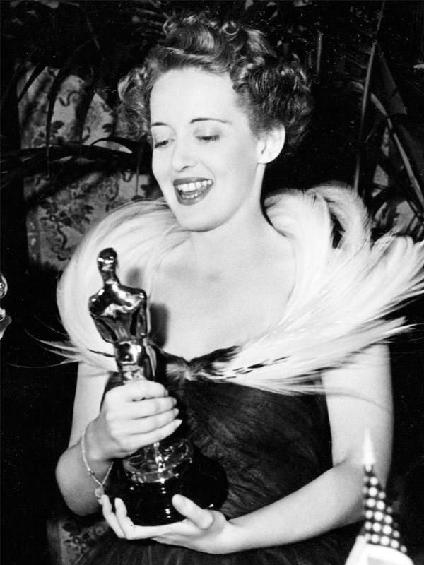 Oscar queen Bette Davis, pictured in 1939.