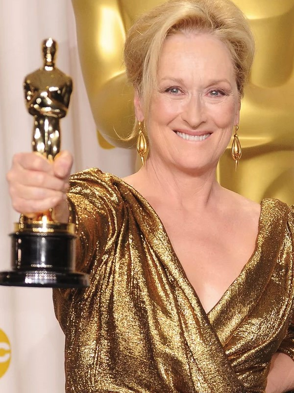 It's a stunner, and Meryl Streep has bagged three of them!