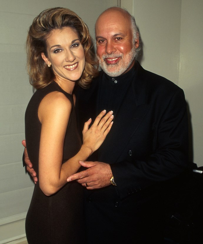 Celine and René married in 1994.