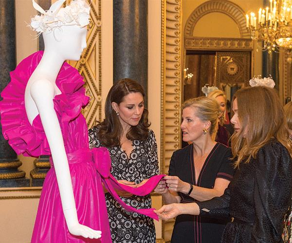 The ladies were highly impressed by Stella McCartney and Burberry (the UK representatives) creation.