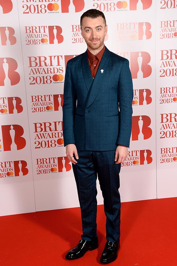 British powerhouse singer Sam Smith is one dapper gent!