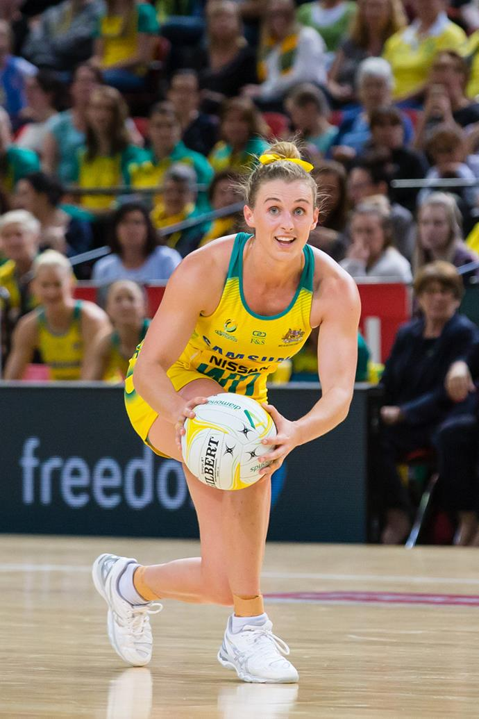 "**Gabi Simpson, Australian Diamonds netball player:** ""Taking strength from vulnerability is so important. When you're young, you want other people to create that confidence, but it's not until you can create it yourself that you're able to be the best you that you can be."""