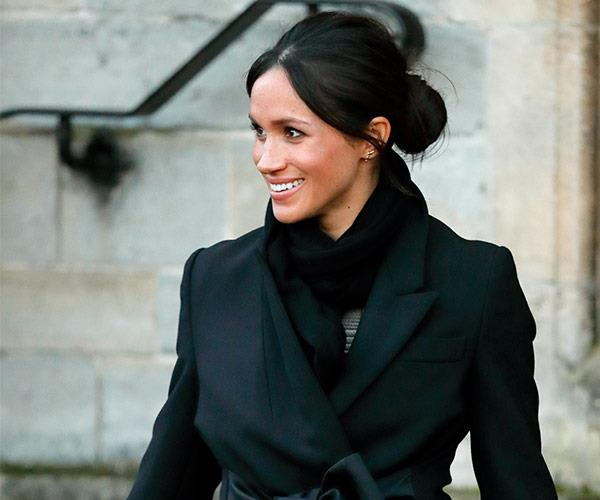 We don't get to see the candid side to Meghan...