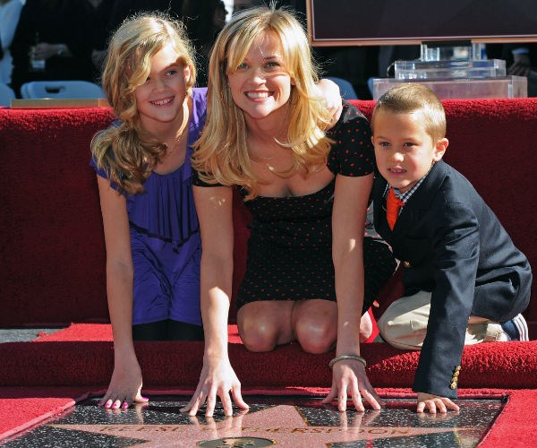 Reese was honored with her Walk of Fame star back on Dec. 1, 2010.