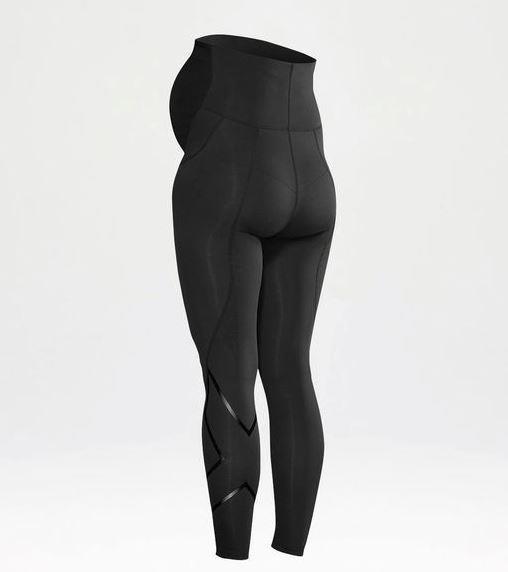 Specially designed prenatal compression tights by 2XU.