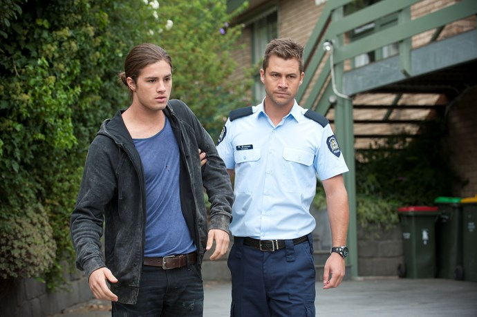 **Tyler is arrested by his brother, 2015:** While working at the garage Tyler got caught up with dodgy businessman Dimato (David Serafin). The conman manipulated Tyler into his criminal activity. When Tyler finally came clean to Mark (Scott McGregor) the policeman marched his youngest brother straight down to the police station.