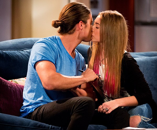 **Piper kisses Tyler, 2016:** They'd been hanging out for a while when Piper (Mavournee Hazel) realised she was in love with Tyler. The teen kissed him first leaving him shocked. Tyler tried to stop the romance in its tracks, worried he was too old for Piper.