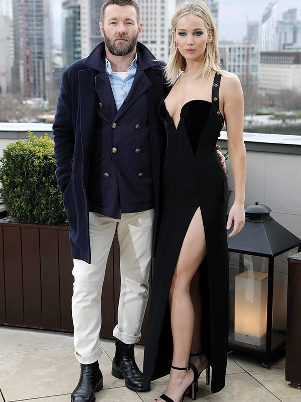 Jen and Joel are currently promoting *Red Sparrow*.