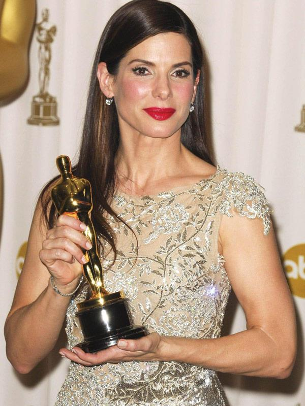 Sandra Bullock took home the coveted award back in 2010 for her Best Actress role in *The Blind Side*.
