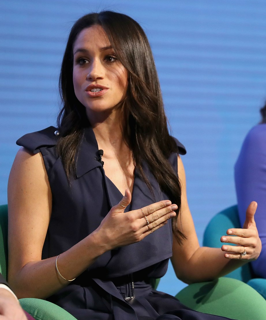 """**1. Meghan Markle on shining a light on women's rights...** """"Women don't need to find a voice - they have a voice."""""""