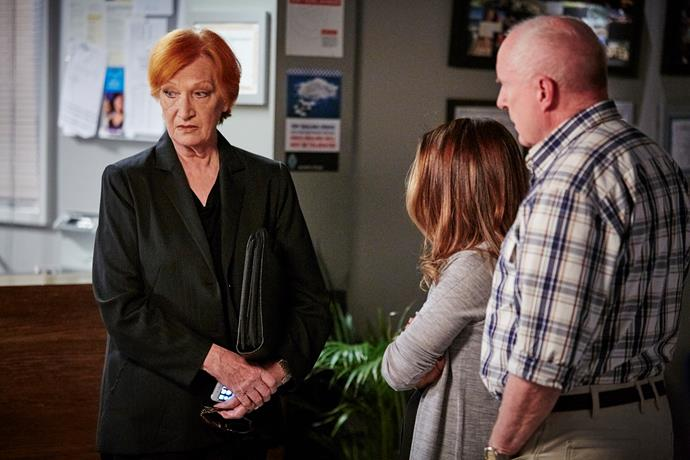 Cornelia as Morag in *Home And Away*