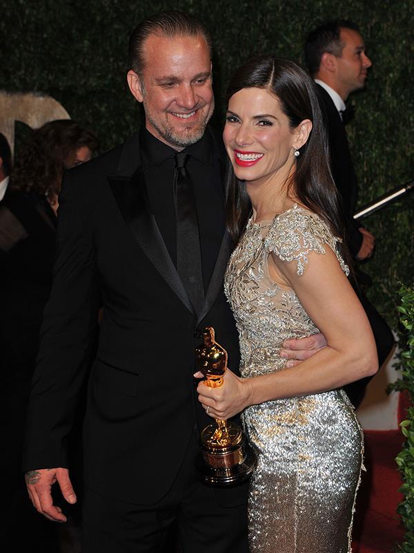 Sandra Bullock and Jesse James.