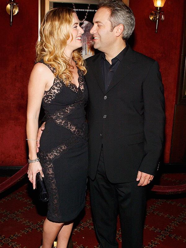 Kate Winslet and Sam Mendes.