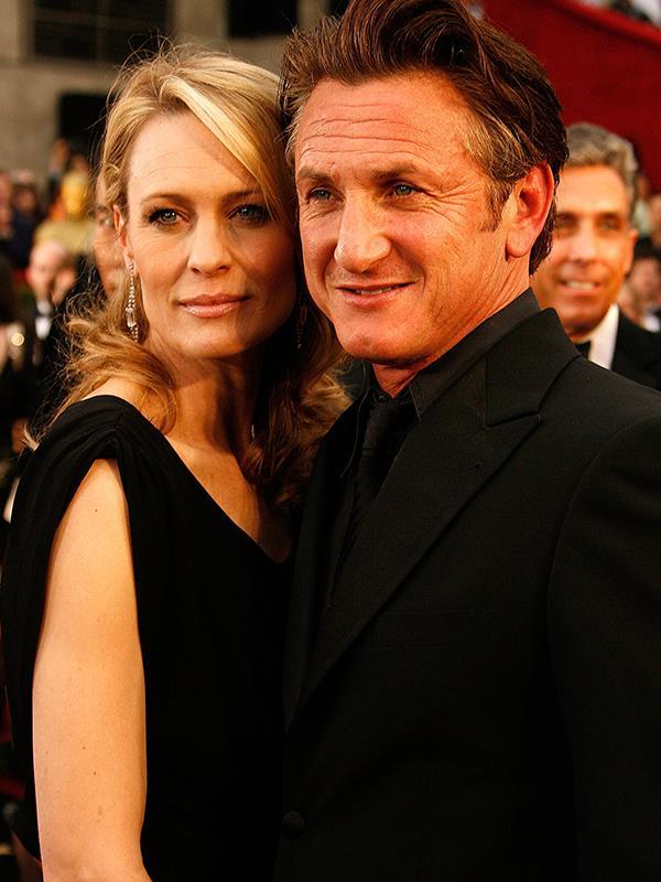 Sean Penn and Robin Wright.