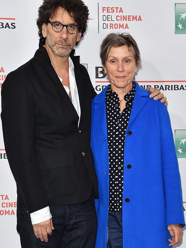 Frances McDormand and Joel Cohen.